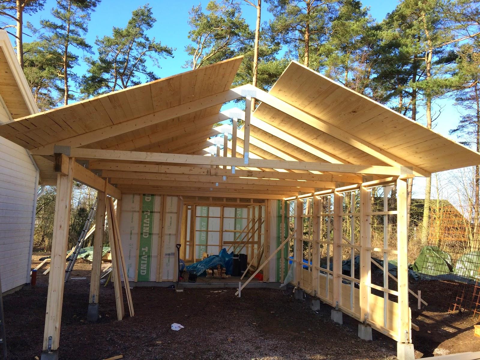 bygga garage på plintar