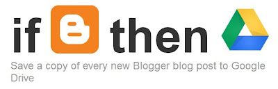 If Blogger then Drive image