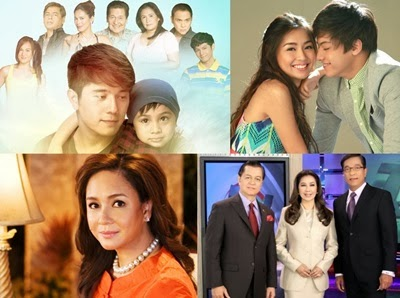 ABS-CBN Clinches 9 of 10 Top Programs Nationwide in February 2014