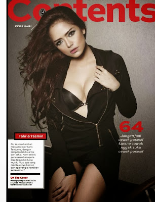 Fahria Yasmin HQ Pictures Maxim Indonesia Magazine Photoshoot February 2014