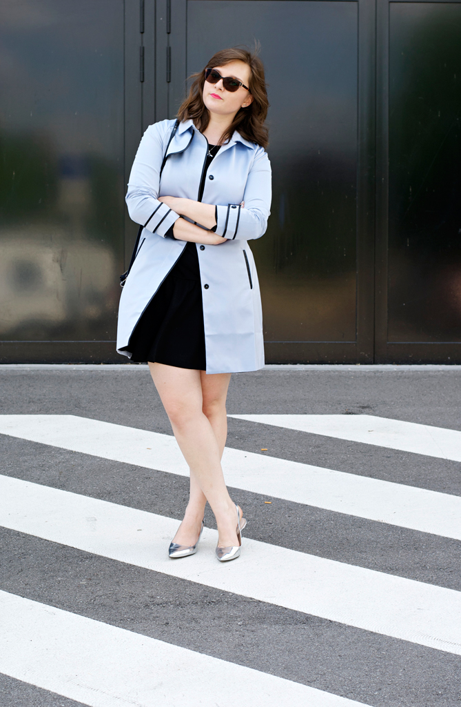 fashion blogger luxembourg blue coat Manalena