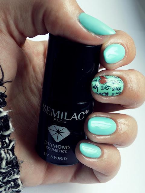 Hybrydy Semilac 022 Mint
