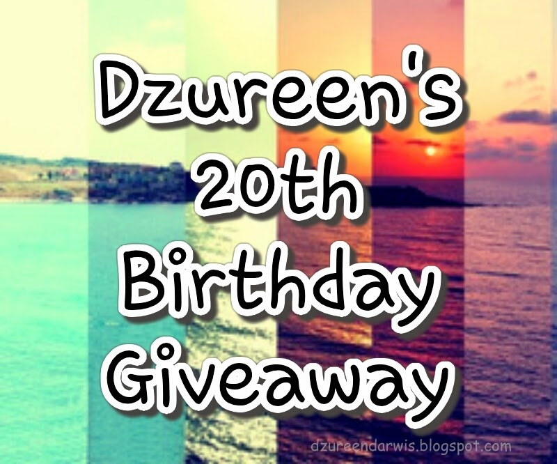 Dzureen s 20th Birthday Giveaway