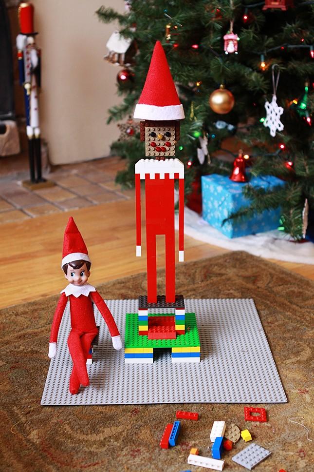 Brick marketplace lego elf on the shelf ideas for Creative lego ideas