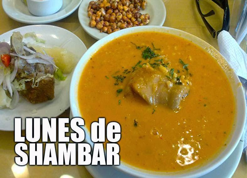 El shambar for Comida tradicional definicion