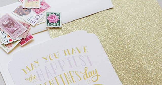 Valentine 39 S Day Cards Diy Calligraphy