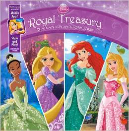 Disney Princess Royal Treasury: Read-and-Play Storybook