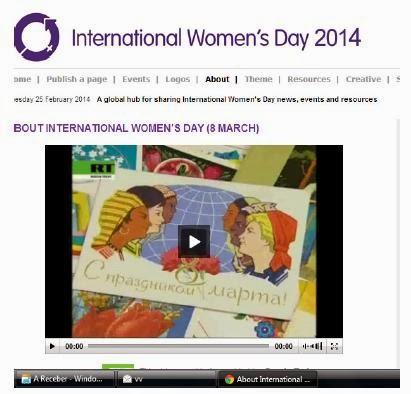 DIA INTERNACIONAL DAS MULHERES 2014 | sitio de partilha