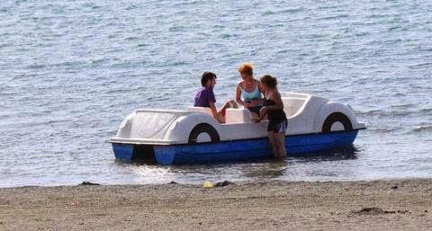 Hazar Gölü Deniz Bisikleti