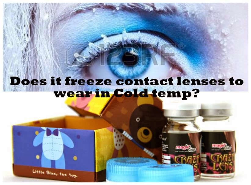 Do Soft Contact Lenses Freeze in Sub Zero Temperatures?