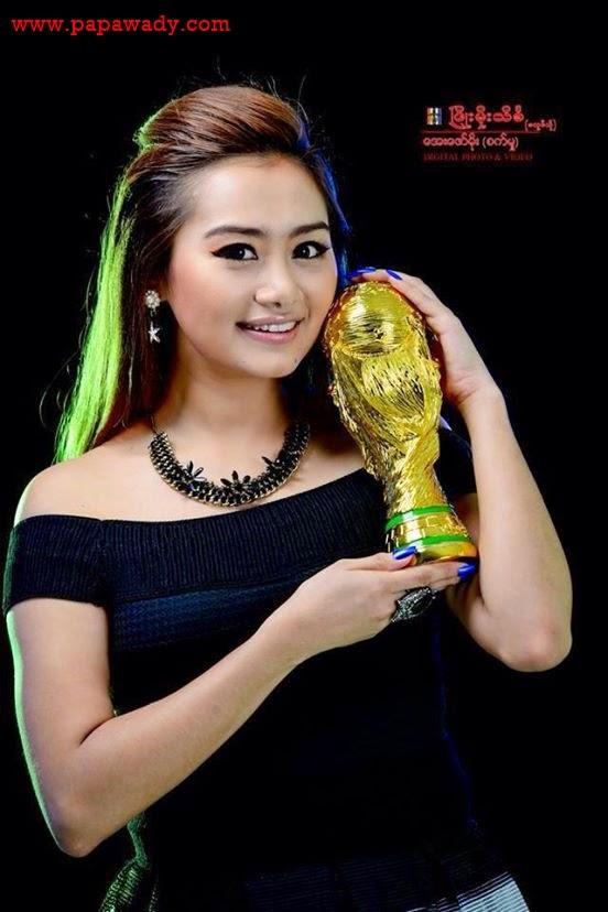 Myanmar Model Thiri Shin Thant