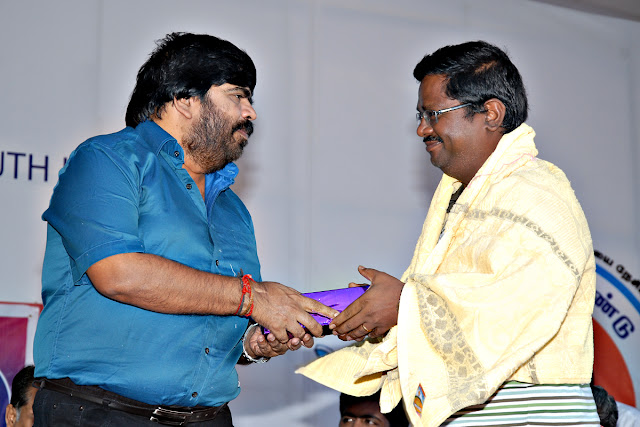T . Rajendar with Rishvan