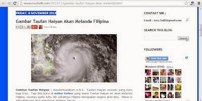 Taufan Haiyan : Dikatakan Lebih 10,000 Terkorban di Filipina