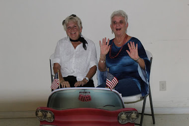 Edie & Mary at USO SOCK HOP on 9/10/16