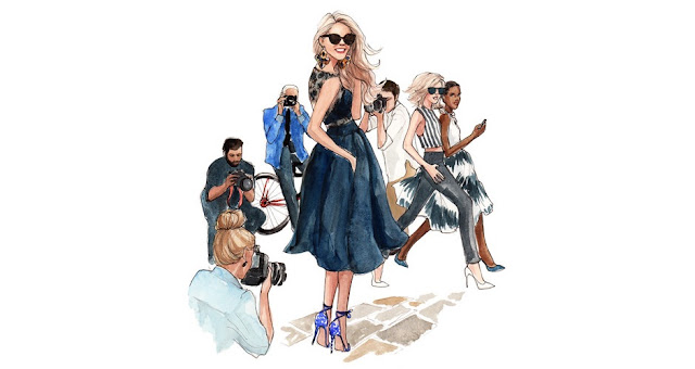 Sprinkle On Glitter blog//My Favorite Fashion Illustrators// Inslee Haynes