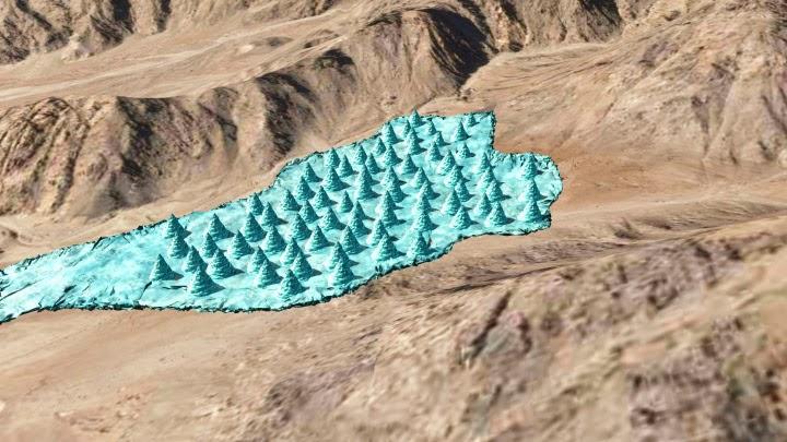 CAD designs of ice stupas