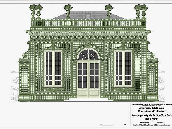 The devoted classicist pavillon frais restoration for Frais architecte