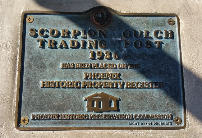 urban exploration of Scorpion Gulch in Phoenix, Arizona