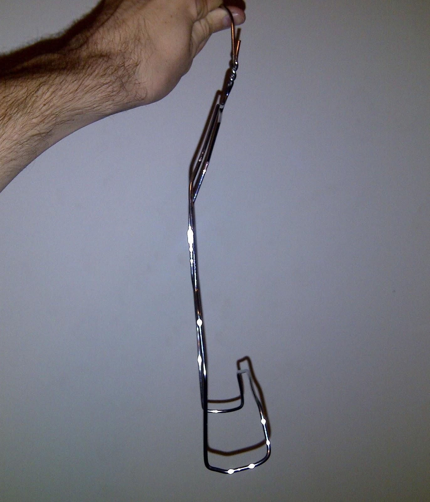 how to stop coat hangers falling off in caravan