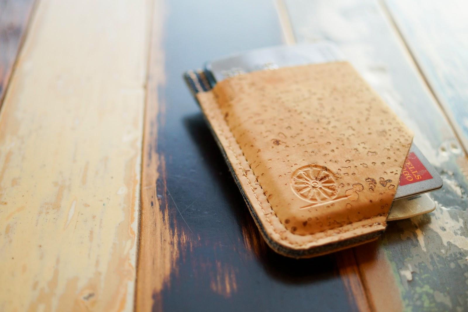 Stitch and Locke Slim Wallet