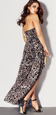 vestidos para noches de verano H&M 2014