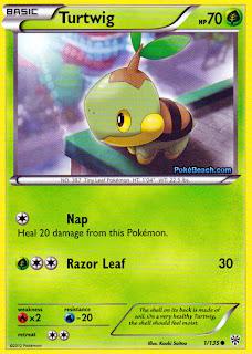 Turtwig Plasma Storm Pokemon Card