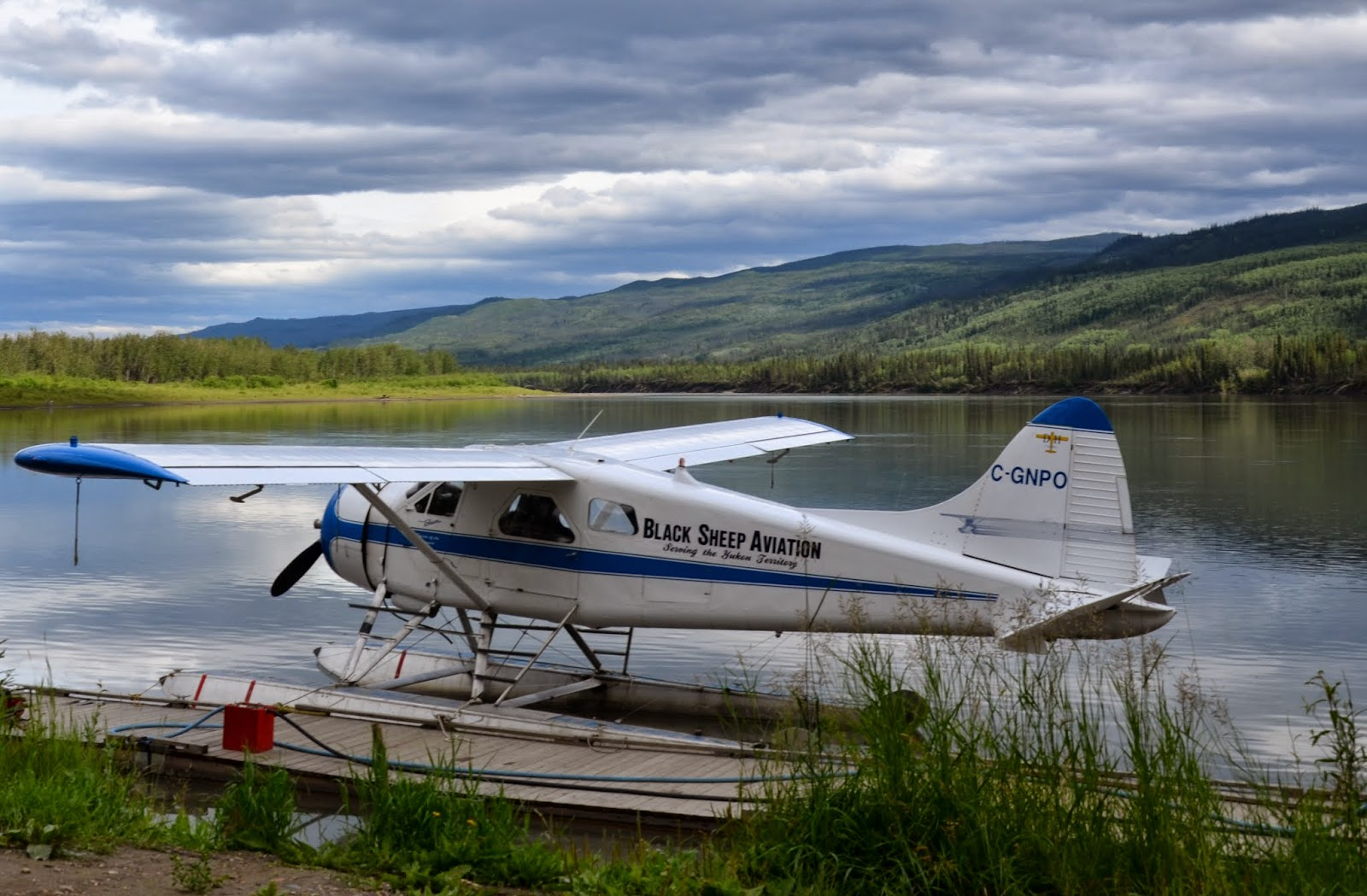 Float Plane terminal just outside of town.
