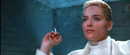 Sharon Stone Basic Instinct 1992 movieloversreview.blogspot.com