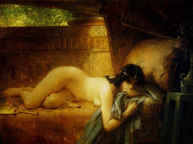 egyptian beauty,Leon Comerre,5 stars