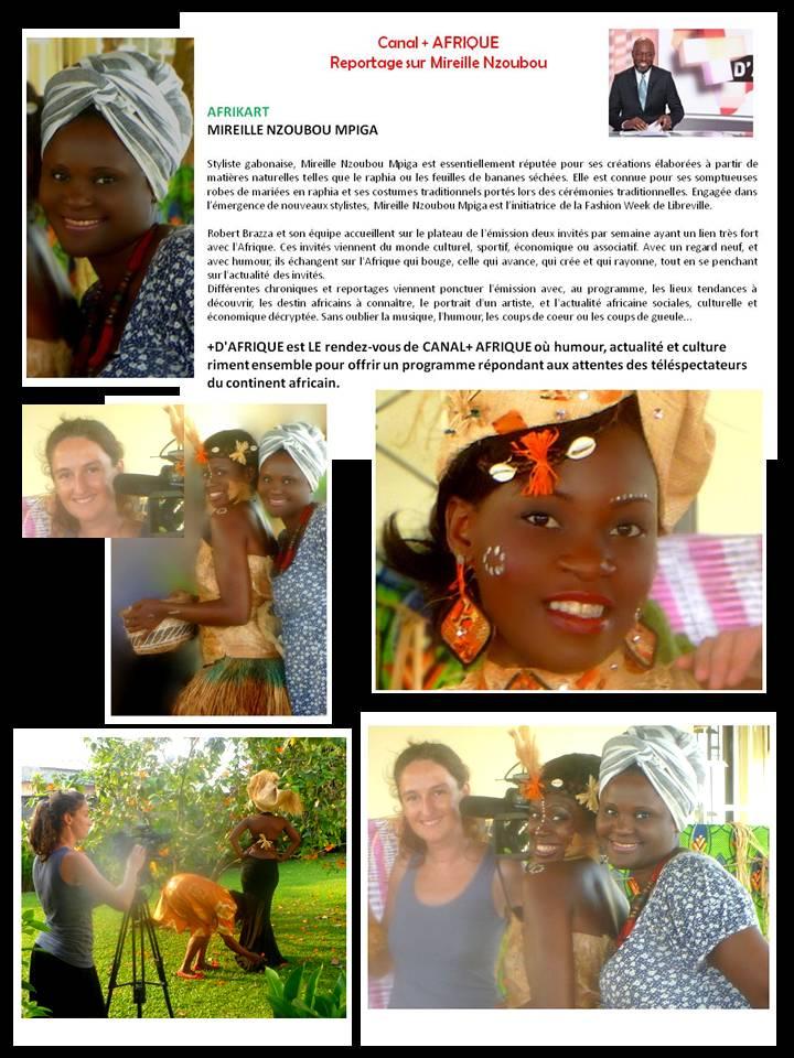 Les coulisses du reportage Canal+ Afrique