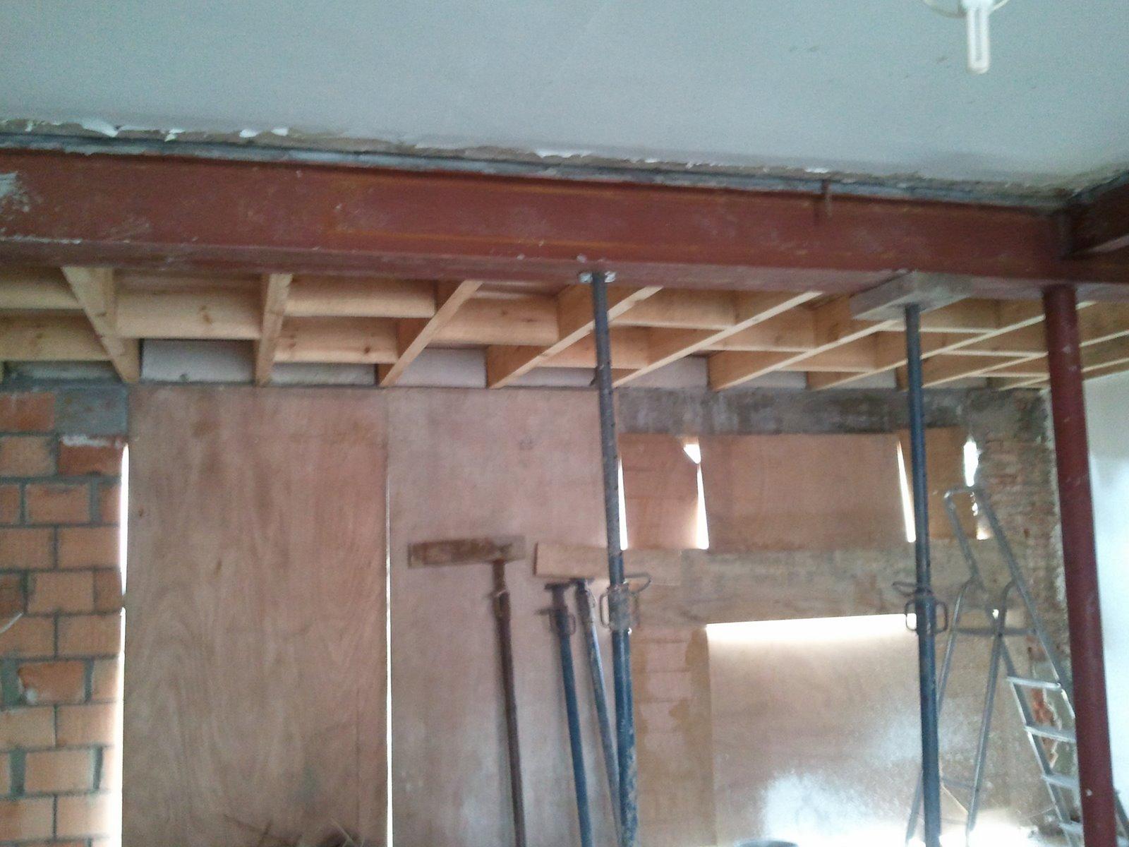 Ons Huisje: Plat dak voor dakterras en plafond