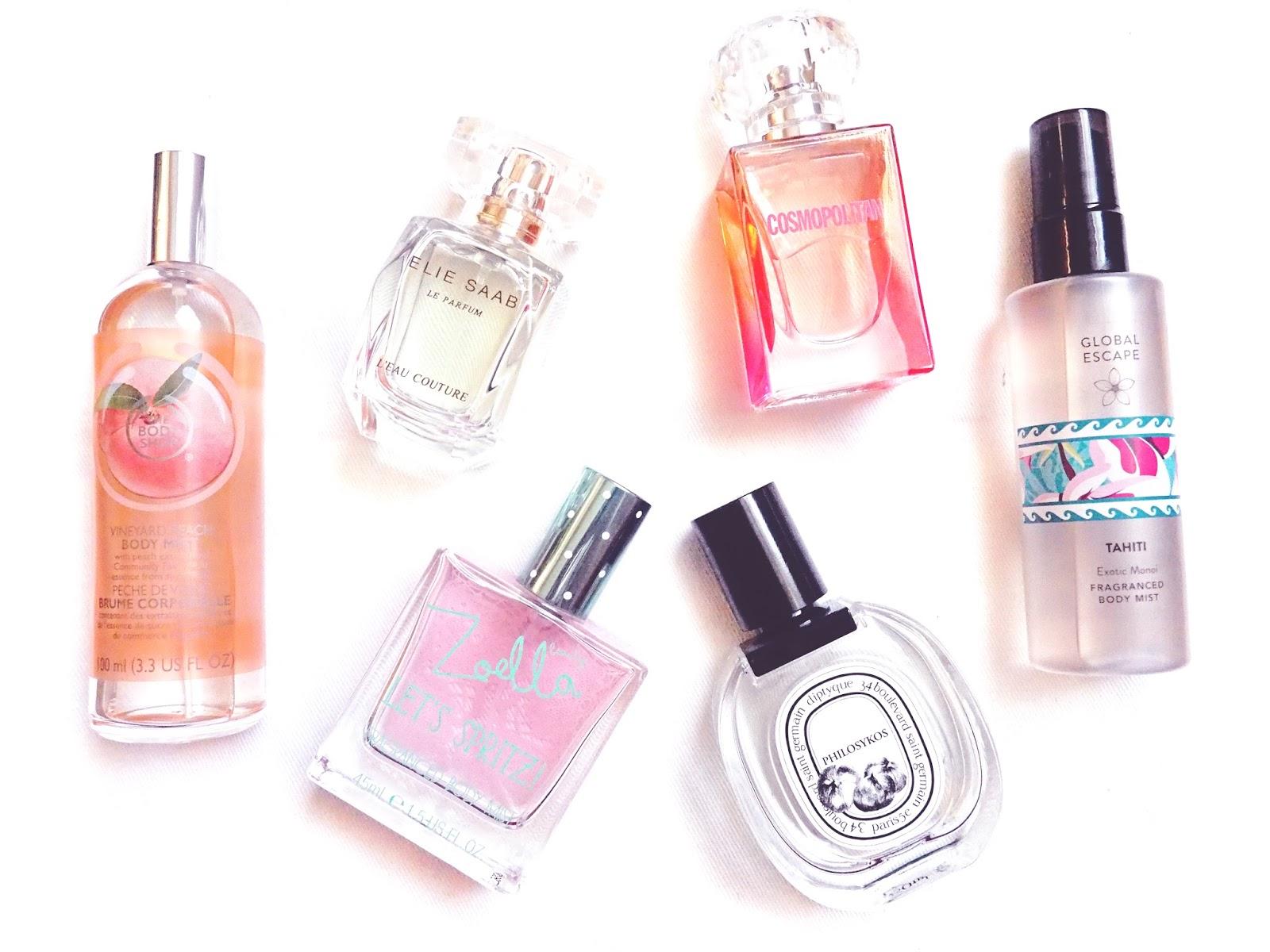 2015 Perfume Favourites