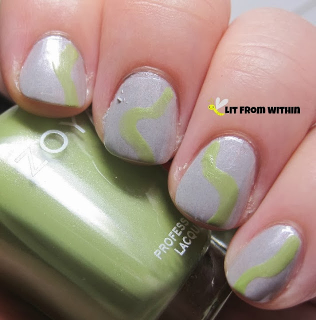 This soft green is Zoya Tracie