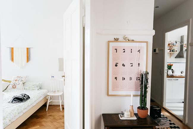 Boho deco chic el piso de la semana como decorar con for Vinilos pared gotele