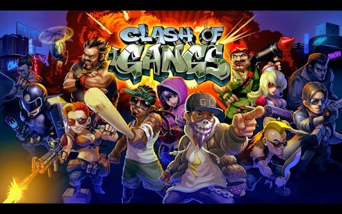 Clash of Gangs Mod APK [UNLIMITED MONEY]