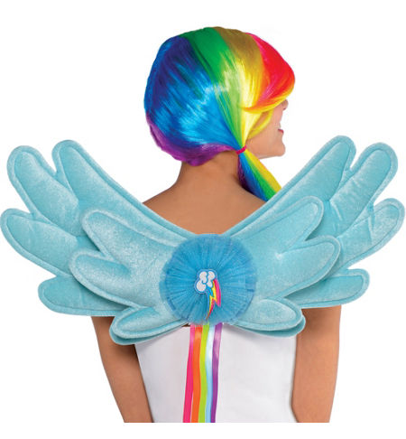 MLP Rainbow Dash Adult Costume Wings