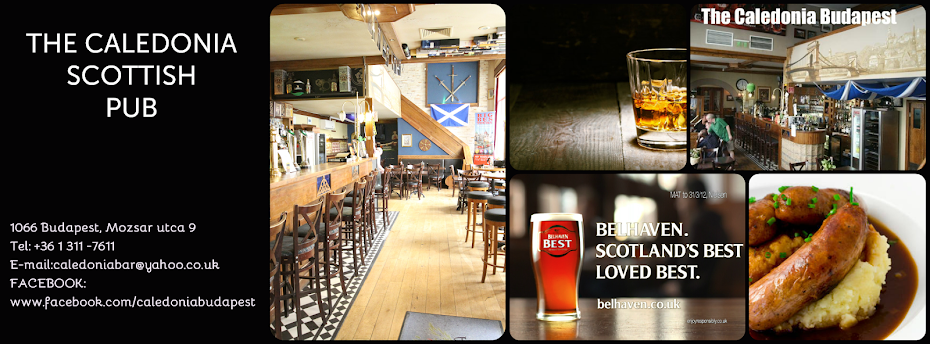 Caledonia Budapest Scottish Pub