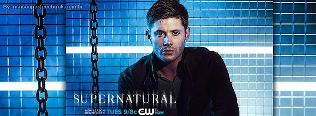 Capa Dean supernatural 9 para Facebook