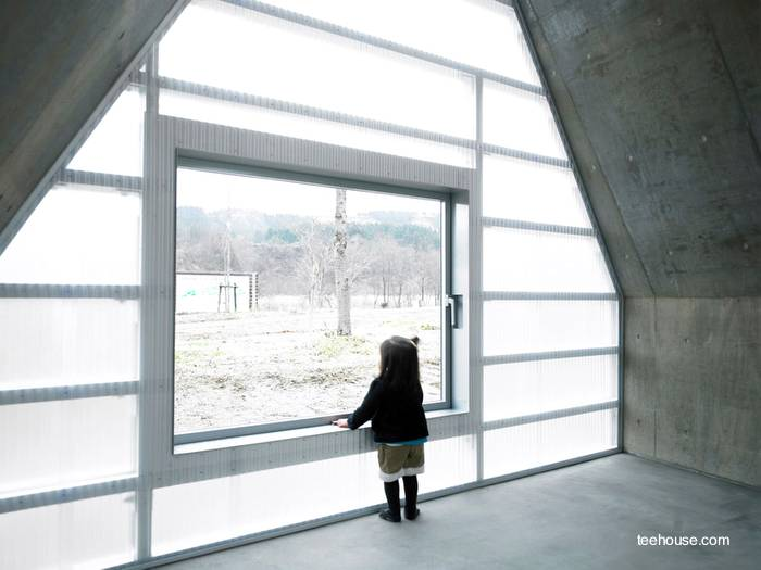 Arquitectura de casas casa moderna no residencial for Casa minimalista japon