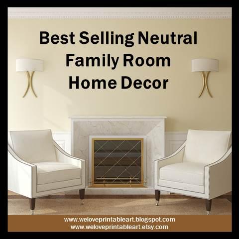 We Love Printable Art Family Room Best Selling Home Decor