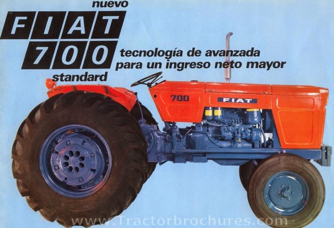Pesados Argentinos Anexo Documentos FIAT - Fiat 700