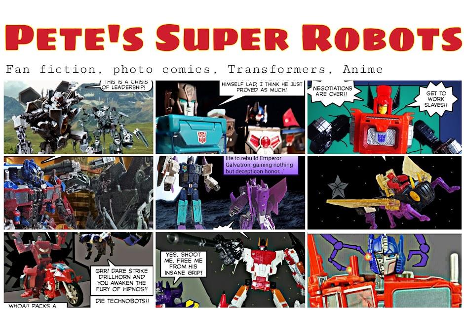 Pete's Super Robots