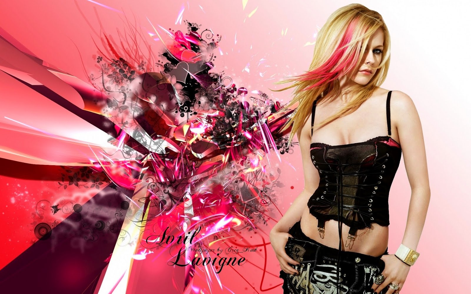 Avril Lavigne 1 Wallpapers: Hollywood & Bollywood: Avril Lavigne Wallpaper
