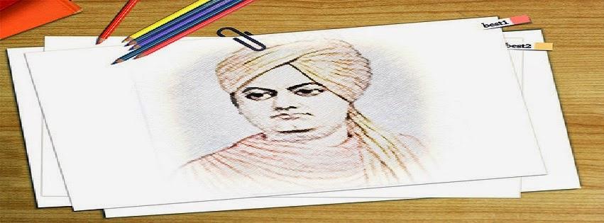Swami Vivekananda Facebook cover