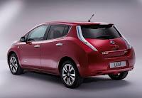 Nissan Leaf (2013 European Spec) Rear Side
