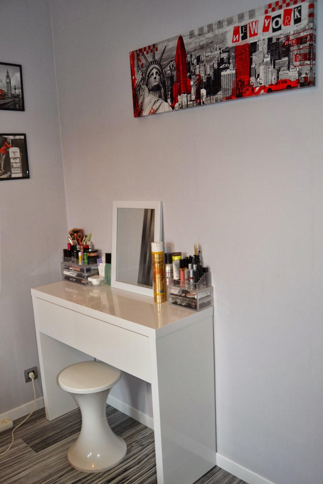 lanantaize mon rangement makeup lanantaize blog lifestyle food geek sur nantes. Black Bedroom Furniture Sets. Home Design Ideas