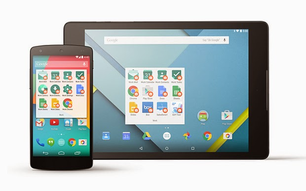 Google Luncurkan Android for Work