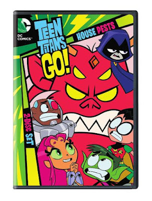 Enter the Teen Titans Go! House Pests Giveaway. Ends 9/6