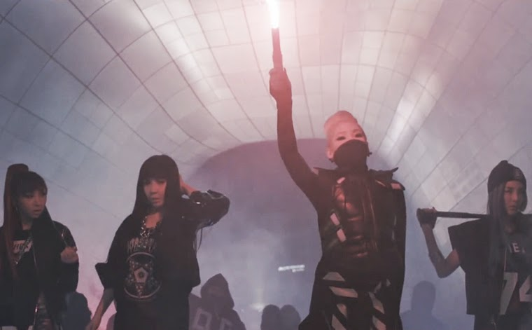 2NE1 creates apocalyptic vision of the future.