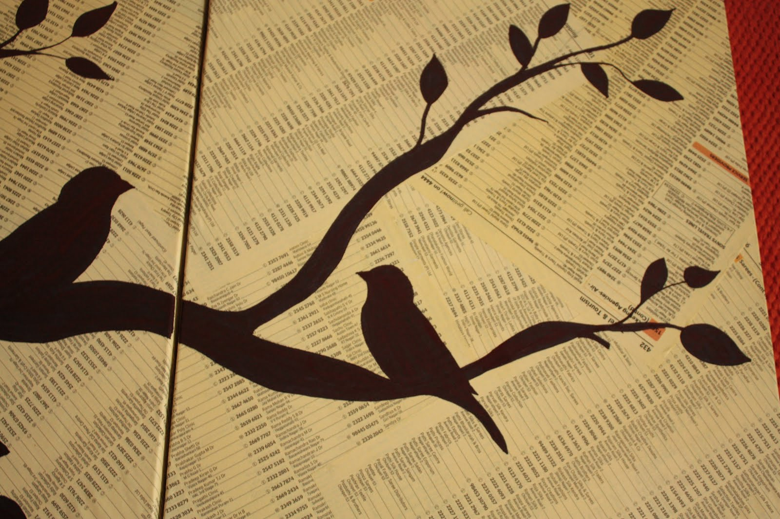 Awesome Paper Bird Wall Decor Ensign - Wall Art Collections ...